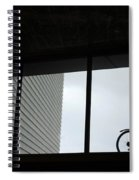 Couple At The Window Spiral Notebook