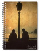 Couple Spiral Notebook