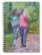 Couple In Love Spiral Notebook