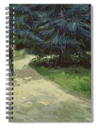 Couple In The Park Spiral Notebook