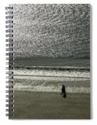 Couple Seascape Spiral Notebook