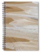 Couple Walking Makena Beach Spiral Notebook