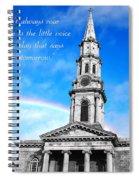 Courage V3 Spiral Notebook