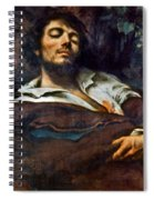 Courbet: Self-portrait Spiral Notebook