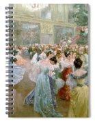 Court Ball At The Hofburg Spiral Notebook