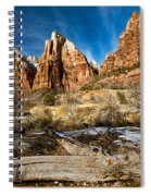 Court Of The Patriarchs Spiral Notebook
