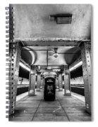 Court Street Subway Spiral Notebook