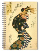 Courtesan And Riddle 1830 Spiral Notebook