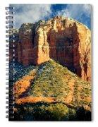 Courthouse Butte - Sedona Arizona Spiral Notebook