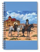 Courthouse Cowboys Spiral Notebook