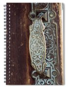 Courthouse Door Plate Spiral Notebook