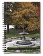 Courthouse Square In Rockville Maryland Spiral Notebook