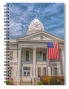 Courthouse2 Spiral Notebook