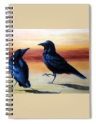 Courting Crows Spiral Notebook