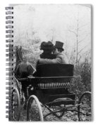 Courtship/carriage Ride Spiral Notebook