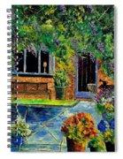 Courtyard 79 Spiral Notebook