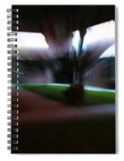 Courtyard At Night Spiral Notebook