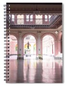 Courtyard Of The Central Post Office, Lima Peru Spiral Notebook