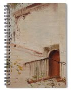 Courtyard View Spiral Notebook