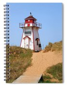 Covehead Harbour Lighthouse 5701 Spiral Notebook