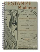 Cover Page From Lestampe Moderne Spiral Notebook