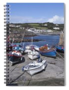 Coverack Harbour Cornwall Spiral Notebook