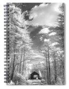 Covered Bridge Dupont North Carolina Spiral Notebook