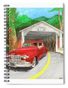 Covered Bridge Lincoln Spiral Notebook