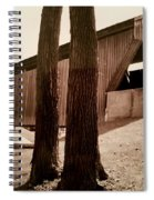 Covered Bridge Southern Indiana Spiral Notebook