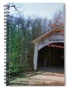 Covered Bridge Turkey Run Spiral Notebook