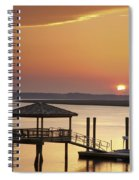 Covered Dock Spiral Notebook