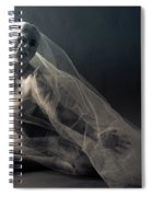 Covered Nude Spiral Notebook