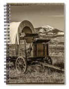 Covered Wagon Spiral Notebook