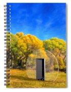 Covington Park Transport Spiral Notebook