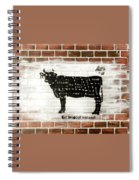 Cow Cuts Spiral Notebook