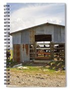 Cow In The Pasture Spiral Notebook