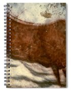 Cow: Lascaux, France Spiral Notebook