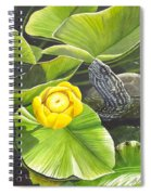 Cow Lily Spiral Notebook