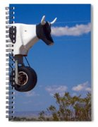 Cow Power Spiral Notebook