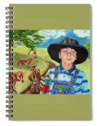 Cow Tagging Spiral Notebook