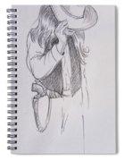Cowboy 3 Spiral Notebook