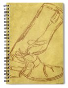 Cowboy Boot Spiral Notebook