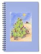 Cowboy Christmas Spiral Notebook