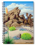 Cowboy Concerns Spiral Notebook
