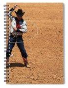 Cowboy Entertainer Spiral Notebook