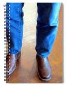 Cowboy Feet Spiral Notebook