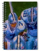 Cowboy Huddle Spiral Notebook