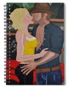 Cowboy Kiss Spiral Notebook