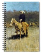 Cowboy Singing Spiral Notebook