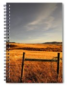 Cowboy Trail Spiral Notebook